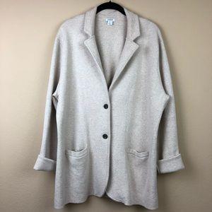 J. Crew Sweater Jacket